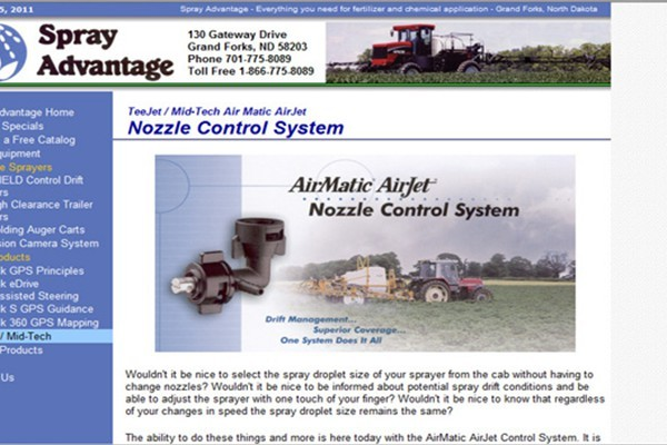Agricultural Spray Equipment Company - Grand Forks, North Dakota