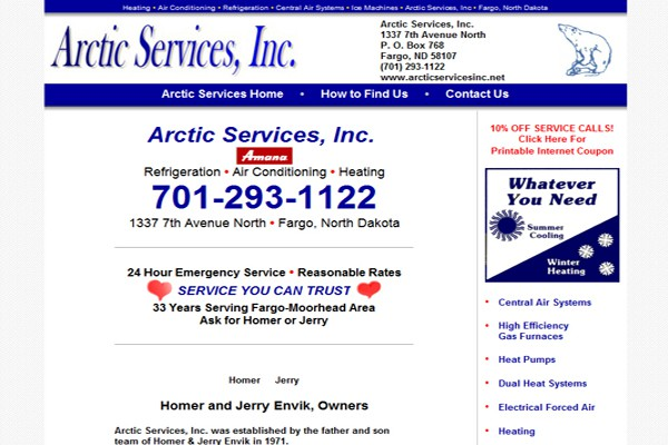Heating and Air Conditioning Company - Fargo, North Dakota