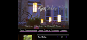 Tiffany Landscape Lighting